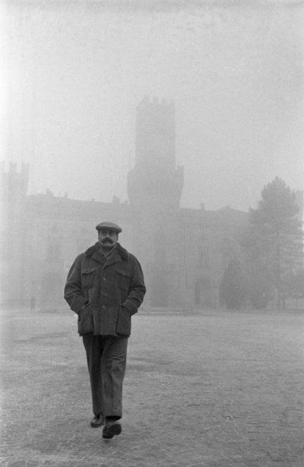 Giovannino a Busseto: fotocronaca dalla nebbia