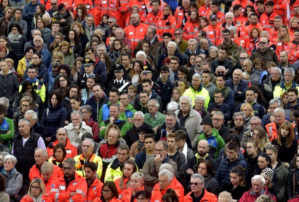 Borgotaro, in migliaia per l'ultimo saluto alla volontaria Angela - Foto