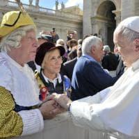 Al Dsèvod porta in udienza dal Papa le Maschere italiane