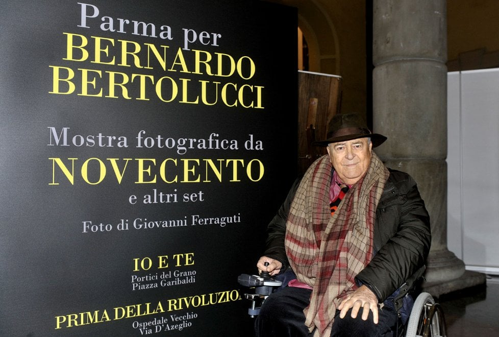 Bernardo Bertolucci: le foto parmigiane