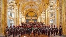 Fondazione Cariparma, la banda musicale dei carabinieri suona al Regio