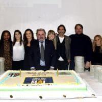 I Parma Club festeggiano i crociati. Premio Gialloblu d'Oro 2018 a Luca Carra