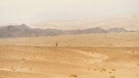 Pugolotti, di corsa 400 metri sotto il livello del mare - Foto