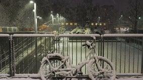 La neve soffice del mattino