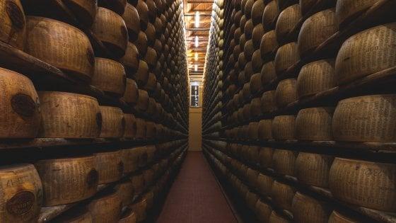 Parmigiano Reggiano, anno record: oltre 3,7 milioni di forme prodotte