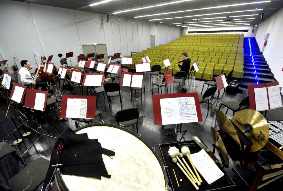 Nuova sala Pizzetti: le foto del concerto inaugurale