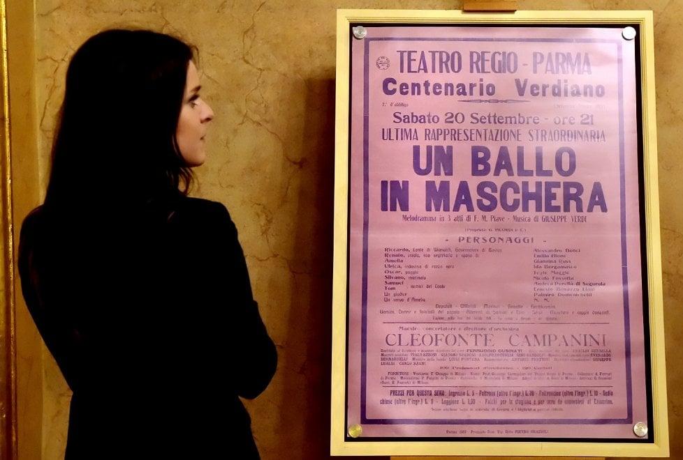 """""""Nelle felici stanze"""": al Regio di Parma le scene ritrovate di Un ballo in maschera - Foto"""