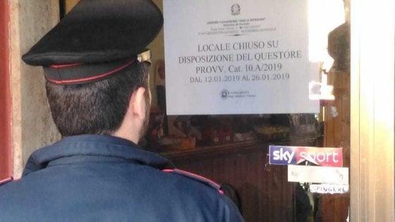 Droga e risse: carabinieri fanno chiudere un bar a Sorbolo