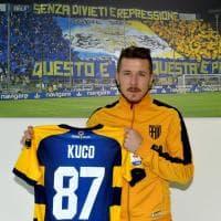 """Parma, Kucka maglia numero 87: """"Chiamatemi Kuco"""""""