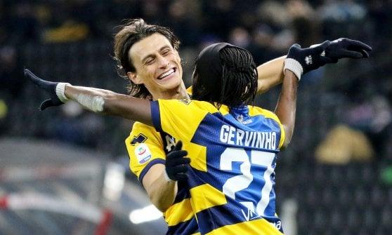 Gervinho, fuga per la vittoria a Udine. Il Parma sogna l'Europa