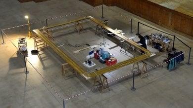 Pilotta, il restauro della cornice  del '700 grande come un salotto