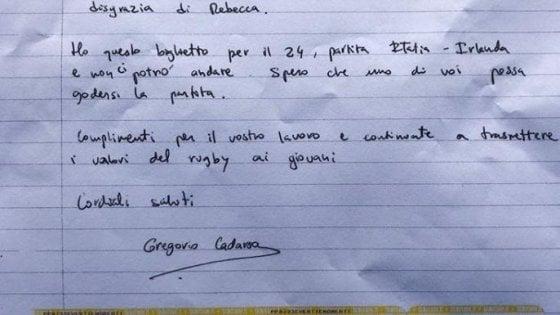 Parma, tifoso spagnolo regala biglietto Sei Nazioni al club che ha perso giovane giocatrice