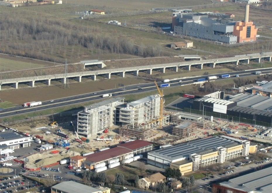 Parma, Chiesi Farmaceutici: avanza il cantiere della nuova sede