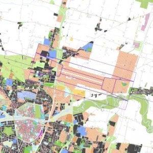 Comune sospende i permessi di costruire nella zona dell'aeroporto di Parma