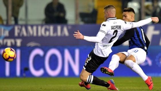 Spalletti azzecca il cambio: l'Inter punisce il Parma con Martinez