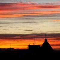 Tramonto a Parma: lo scatto di un lettore