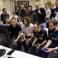 Parma E-sports, Dezi e Dimarco giocano alla Playstation