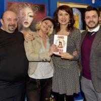 Parma, Vladimir Luxuria ospite alla galleria Albatros - Foto