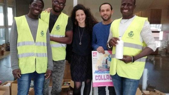 Parma, migranti volontari a sostegno delle scuole
