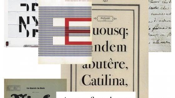 Parma, I Segni Esemplari di Bodoni in mostra nella biblioteca Palatina