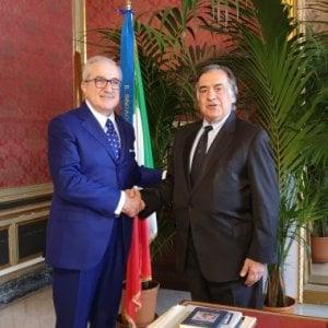 Parma, l'imprenditore Radwan Khawatmi cittadino onorario di Palermo