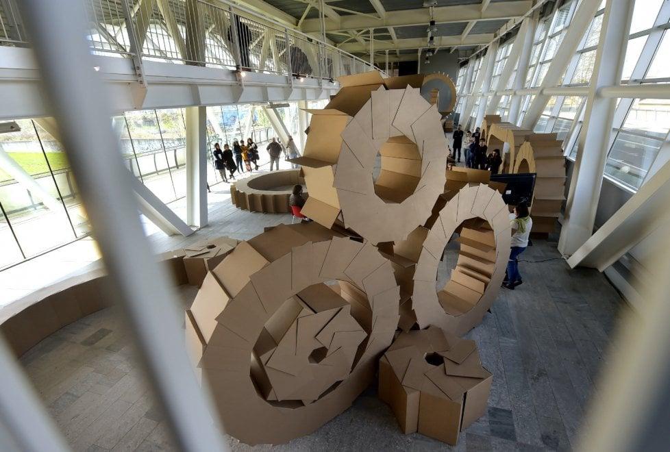 Parma 360 Festival: il ponte Nord luogo d'arte nel segno di Leonardo - Foto