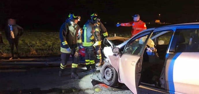 Incidente stradale nel piacentino: in gravi condizioni due bambine di Busseto