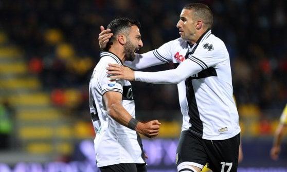 Parma battuto a Frosinone su rigore al 103'. Ora la classifica spaventa