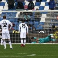Il Parma senza Alves non prende più gol: buon punto contro il Sassuolo