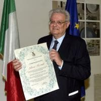 Fidenza, Alberto Bormioli cittadino onorario: la cerimonia nello stabilimento - Foto