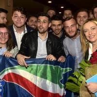 Europee, bagno di folla a Parma per Giorgia Meloni - Foto