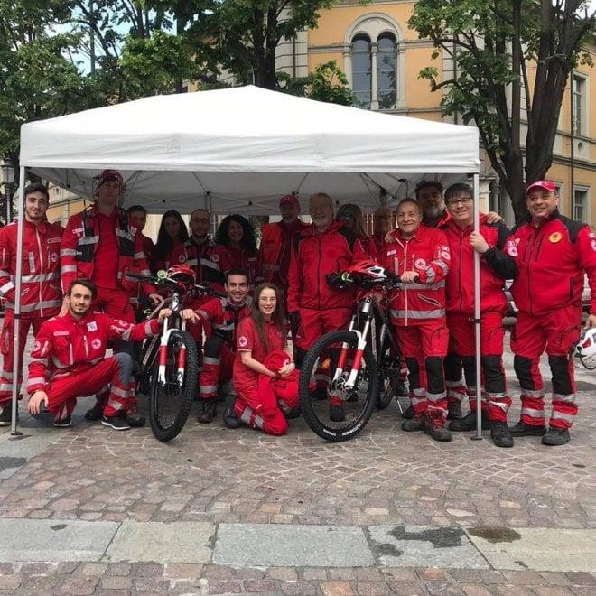 Croce Rossa Parma Il Soccorso Arriva In Bici Elettrica 1 Di 1