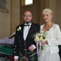 Marczelina e Roberto: in municipio il matrimonio parmigiano-polacco in kilt