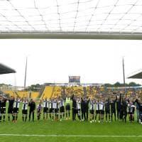Parma-Fiorentina: fotocronaca della festa salvezza crociata