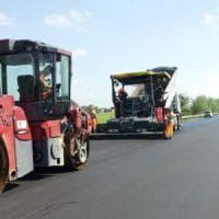 Sicurezza stradale, l'Asolana ha un nuovo asfalto