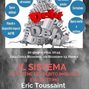 Debito sovrano: Éric Toussaint ne parla a Parma