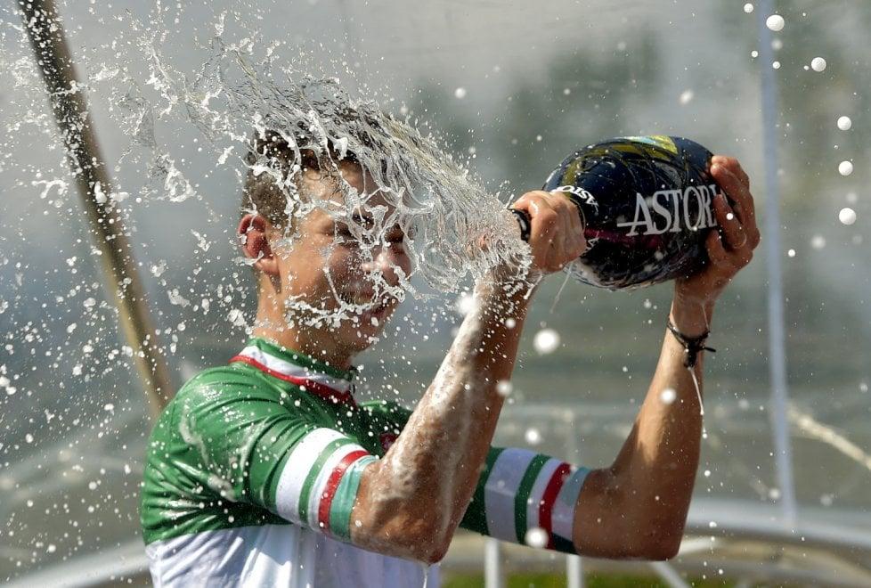 Formolo, fuga per la vittoria in Val Taro: è lui il campione italiano - Foto
