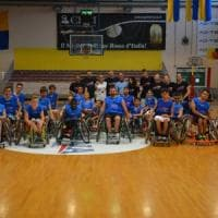 Basket in carrozzina, l'inclusione fa canestro al Candido Junior Camp