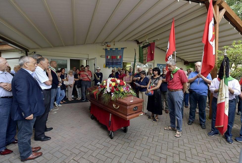Parma saluta Franco Bianchi, partigiano Tigre - Foto