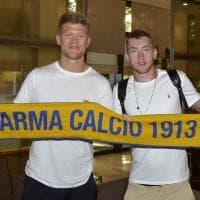 Parma scatenato: ecco Cornelius e Kulusevski dall'Atalanta - Foto