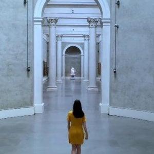 Parma capitale della Cultura: la ragazza in giallo fra i capolavori della città
