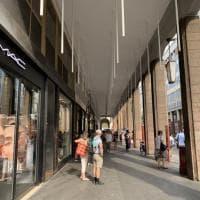 Via Mazzini a Parma, verso la nuova illuminazione - Foto