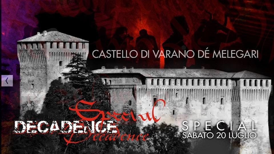 Parmense, nel castello di Varano la festa hard privata che imbarazza la Giunta leghista