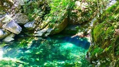 Cascate  e piscine naturali l'altro mare della Val Taro -  Foto