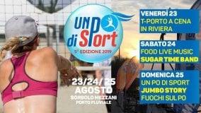 Un Po di Sport: il programma  della quinta edizione
