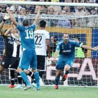 Parma, il cuore non basta: Chiellini regala i primi tre punti alla Juve