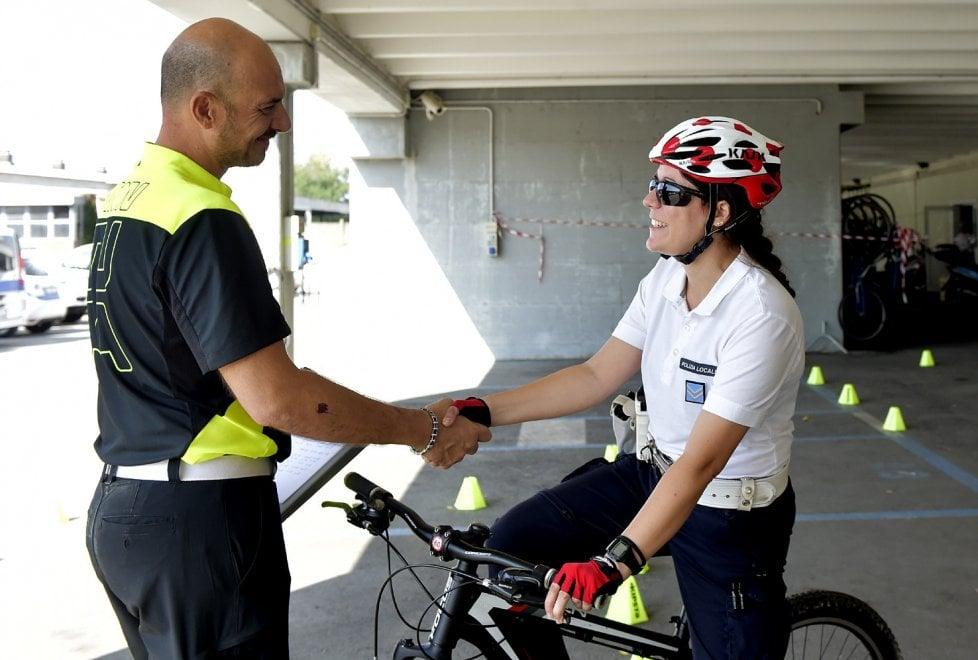 Sicurezza, in strada a Parma gli agenti bikers - Foto