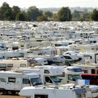 Turismo, a Parma l'invasione dei camper - Foto