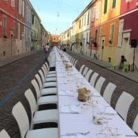 Oltretorrente, in via della Salute una cena di fine estate - Foto