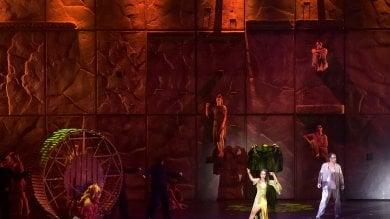 Notre Dame, lo spettacolo -  Foto  dei record incanta la Cittadella